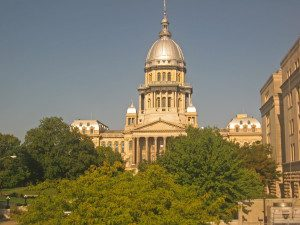 picture of Illinois capital building