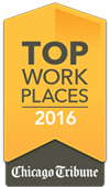 Chicago Tribune's 100 Top Workplaces 2016