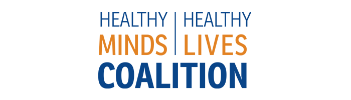 Healthy Minds Healthy Lives Coalition Banner with Logo