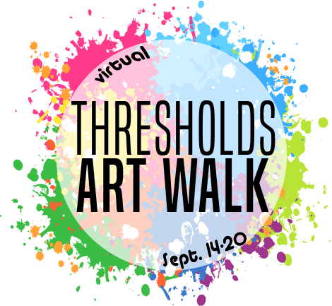 Thresholds Art Walk Logo