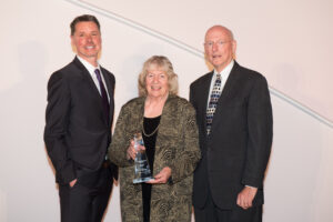Jim and Kay Mabie with Mark Ishaug